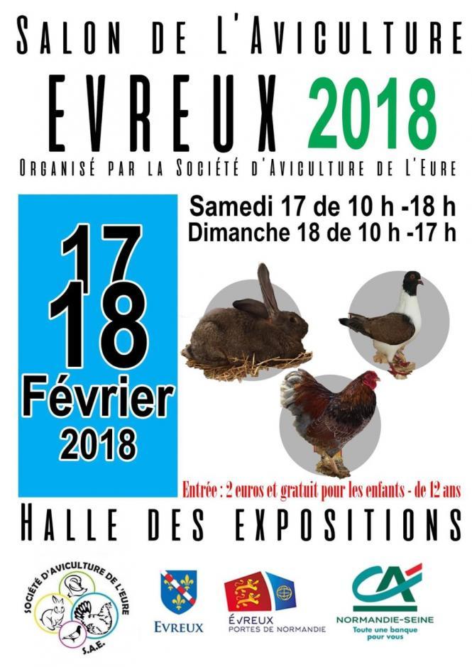 Salon de l'aviculture Evreux 2018