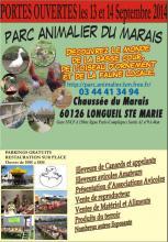 Portes ouvertes parc animalier du marais