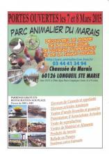 Portes ouvertes par animalier du marais 7-8Mars 2015